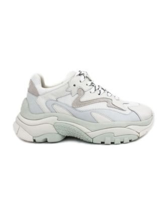Ash White Leather And Fabric Sneaker. (Overige kleuren)