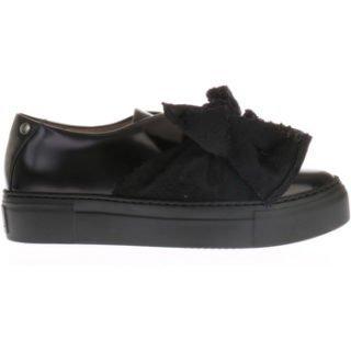 Agl Zwarte Sneakers Met Strik