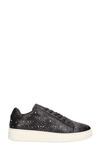 Lola Cruz Lola Cruz Black Leather Sneakers (zwart)