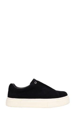 Eytys Eytys Doja High Sole Black Suede Sneakers (zwart)