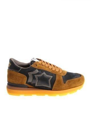 Atlantic Stars Suede Sneakers Sirius (bruin)