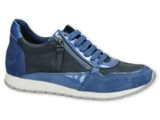 AQA Shoes A3294 (Jeans blauw)