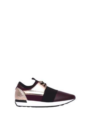 Pollini Burgundy/powder Pink Sneakers (rood)
