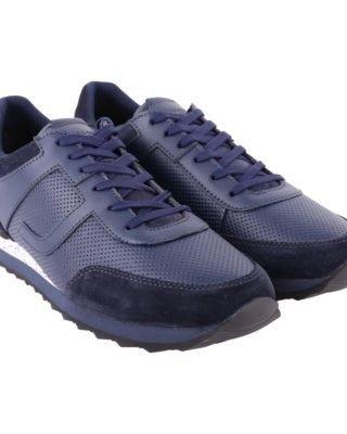 Trussardi Trussardi Leather Sneakers (blauw)