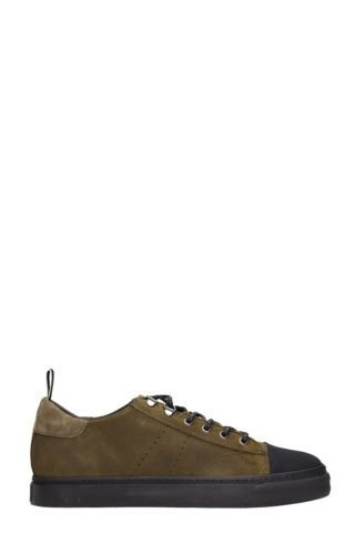 Low Brand Low Brand Green Nabuk Sneakers (groen)