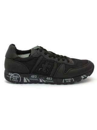 Premiata Eric Sneaker In Black Suede Upper And Nylon. (Overige kleuren)