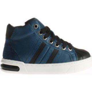 Pinocchio Hoge Donkerblauwe P1877 Sneaker