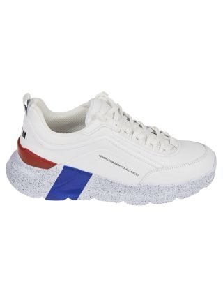 MSGM Msgm Never Look Back Sneakers (wit/rood/blauw)