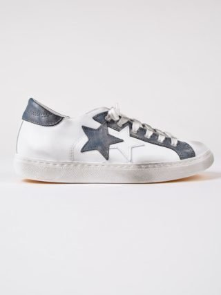 2Star 2star Star Patch Sneakers (wit)