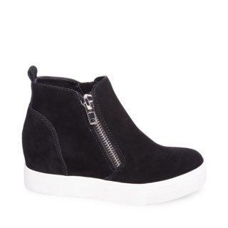 Steve Madden WEDGIE Wedge sneakers Zwart dames