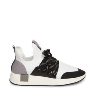 Steve Madden SHADY Middelhoge sneakers Wit Multi dames