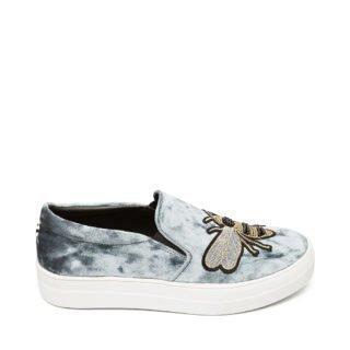 Steve Madden GLANCE Slip-on Sneakers blue multi dames