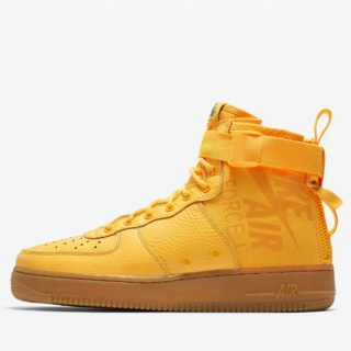 "Nike SF Air Force 1 Mid ""Odell Beckham Jr"" Laser Oranje/Gum Med Brown"