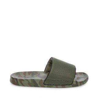 Steve Madden SEABEES Lage sneakers Green Camo heren