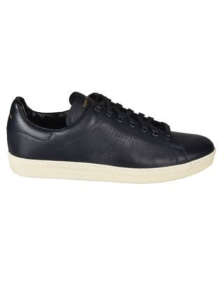 Tom Ford Tom Ford Crinkled Hole Sneakers (blauw)