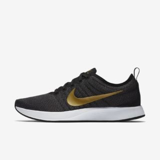 Nike Wmns Dualtone Racer SE Black/Metallic Goud Dark Grey White