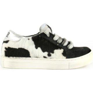 P448 Cow Print Jr. Sneaker