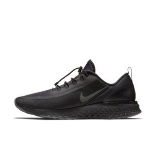 Nike Odyssey React Shield Hardloopschoen voor heren - Zwart Zwart