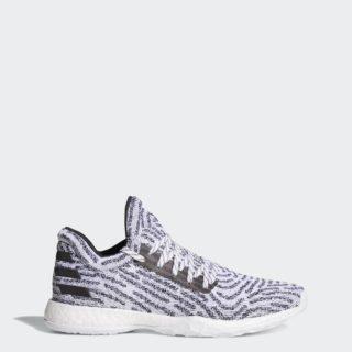 adidas Harden Vol. 1 LS Primeknit AQM43 (Grey/Ftwr White/Core Black/Grey One)