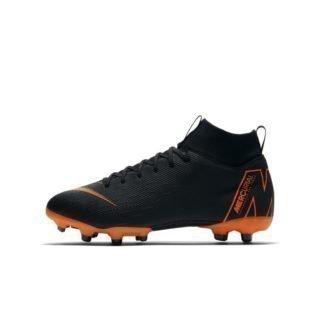 Nike Jr. Superfly VI Academy MG Voetbalschoen voor kleuters/kids (meerdere ondergronden) - Zwart Zwart