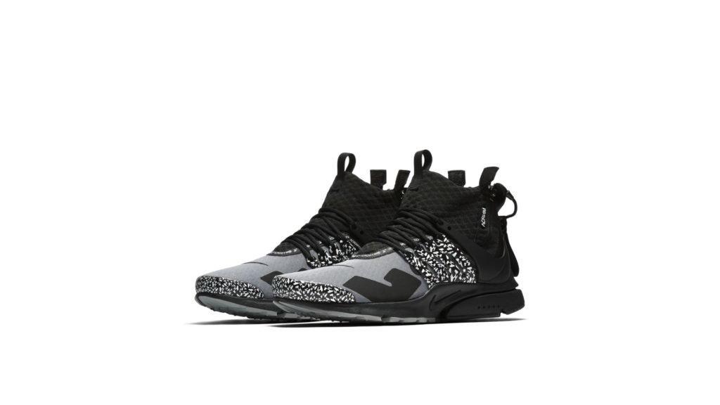 Nike Nike Air Presto Mid Utility x Acronym Cool Gray / Black (AH7832-001)