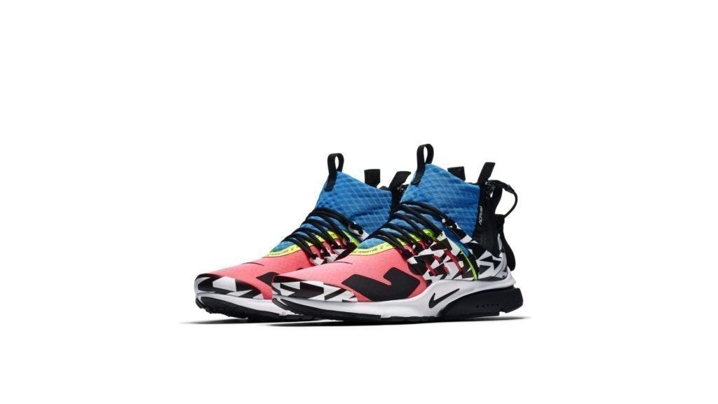 Nike Nike Air Presto Mid Utility x Acronym Pink / Black / Photo Blue (AH7832-600)