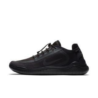 Nike Free RN 2018 Shield Hardloopschoen voor heren - Zwart Zwart