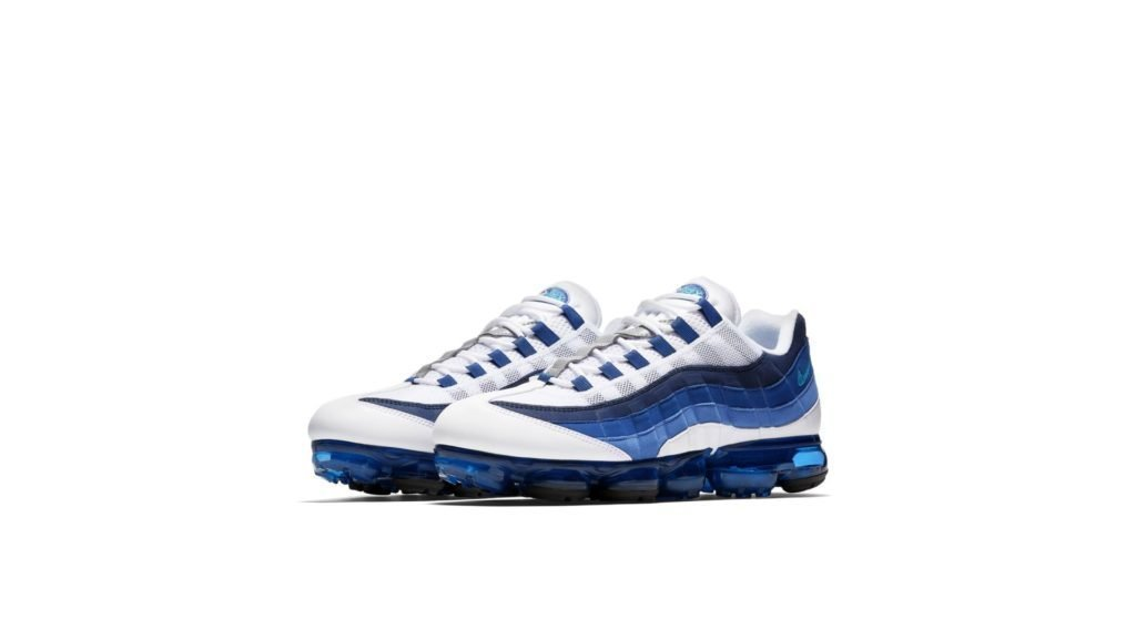 Nike Nike Air VaporMax 95 White / French Blue (AJ7292-100)