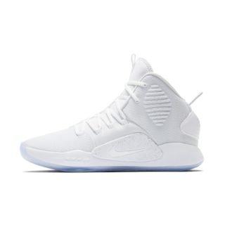 Nike Hyperdunk X Basketbalschoen - Wit Wit