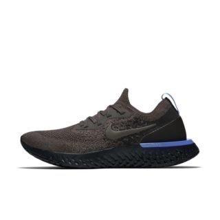 Nike Epic React Flyknit Hardloopschoen voor dames - Grijs Grijs