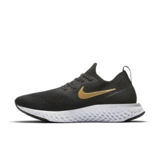 Nike Epic React Flyknit Hardloopschoen voor dames - Zwart Zwart