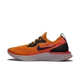 Nike Epic React Flyknit Hardloopschoen voor dames - Oranje Oranje