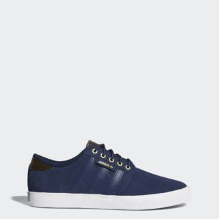 adidas Seeley AQS99 (Collegiate Navy / Umber / Ftwr White)