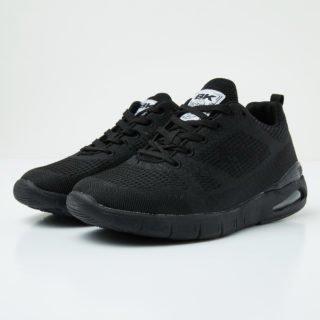 British Knights energy women's low-top sneaker (zwart)
