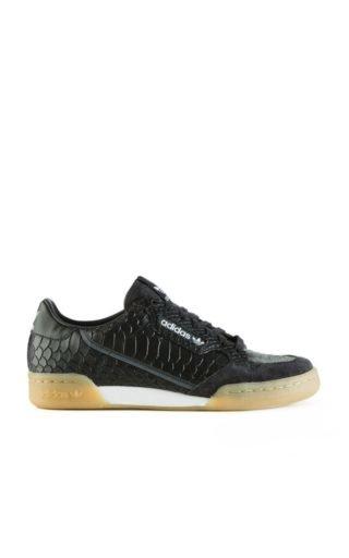 Adidas Originals Continental 80 Snakeskin Black