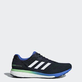 adidas Adizero Boston 7 EFF23 (Legend Ink / Shock Lime / Hi-Res Blue)