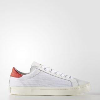 adidas Court Vantage BEG03 (Footwear White/Footwear White/Red)