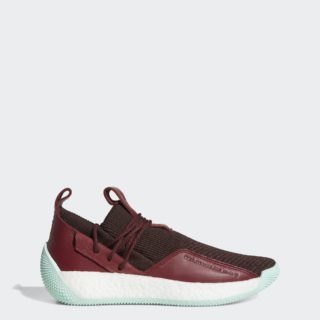 adidas Harden LS 2 BAY72 (Night Red / Noble Maroon / Clear Mint)