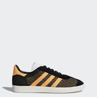 adidas Gazelle Primeknit CEQ77 (Core Black/Real Gold/Chalk White)