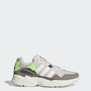 adidas Yung-96 DBK36 (clear brown / off white / solar green)