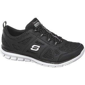 Zwarte-Skechers-sneaker-elastiek-memory-foam-1487698_P