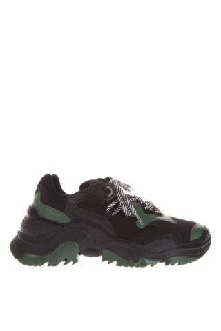 N.21 N.21 Billy Black & Green Running Sneakers (zwart/groen)