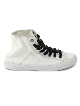 Maison Margiela Stereotype High-top Sneakers In Off-white Cotton. (Overige kleuren)