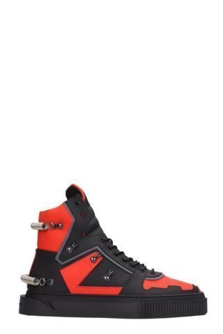 Gienchi Gienchi Hypnos 3.0 Black And Red Sneakers (zwart)