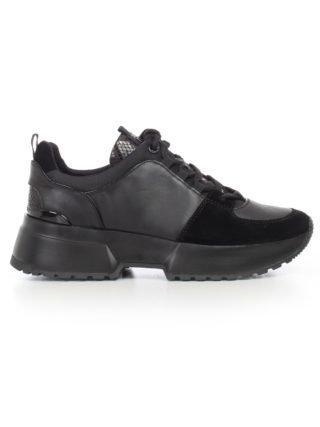 MICHAEL Michael Kors Michael Michael Kors Logo Plaque Sneakers (zwart)