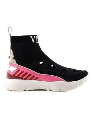 Valentino Garavani High Top Sneaker (roze)