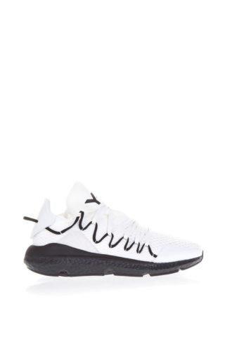 Y-3 Y-3 Kusari White Fabric Sneakers (zwart/wit)