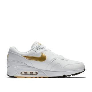 Nike Air Max 90/1 (wit/goud)