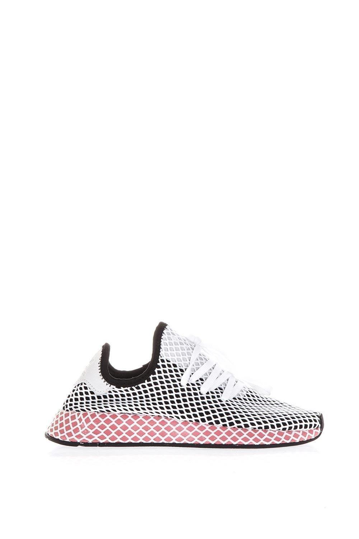 online store 1f512 d44d6 Adidas Originals Adidas Originals Deerupt Runner Sneakers In Fabric (zwartrozewit).  Stijlcode 10606514. SALE. Adidas Originals Adidas Originals Deerupt ...