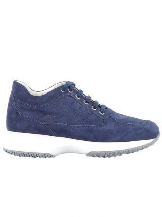 Hogan Hogan Blue Suede Sneakers (blauw)